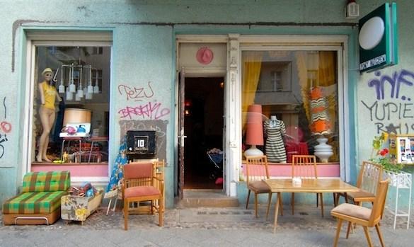 Las mejores tiendas de segunda mano de berl n arriba la - Muebles vintage barcelona segunda mano ...